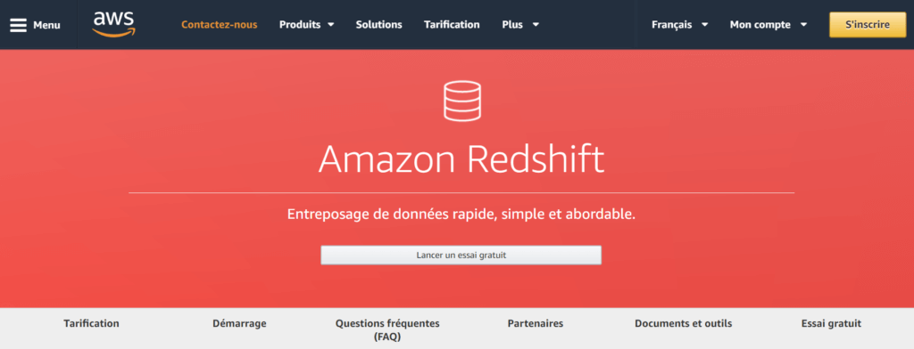 technologies datawarehouses amazon redshift